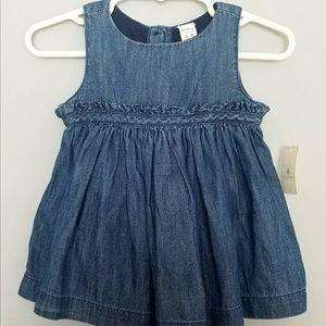 Baby Gap Chambray dress NWT